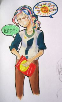 Bratty son for a diva father-Toriko fancharacter by animechan21