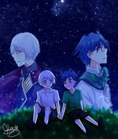 .:Far Away as the stars - Boueibu:. by xiomicchi