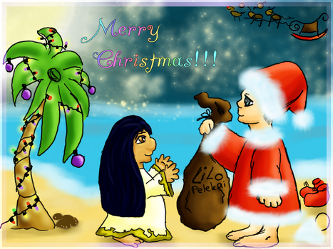 Christmas in Hawaii by shiyakuri