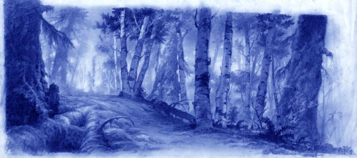 brother bear background layout by xtremartist