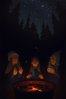 Camping Memories by melissa-king