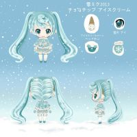 Snow Miku 2013 by Delsago