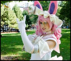 Sailor Sylveon Cosplay: In the Name of the Moon by Mink-the-Satyr