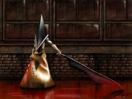 Pyramid-Head by EvilFlesh