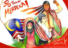 56th Independence Day by fingernailtreez