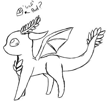 Dragon thing I've veen working on by Candythekitty1152