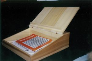 Wooden Lap Desk by JARM13