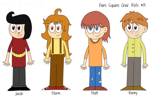 Faire Square - Character Refs # 13 by MadnessCriminal