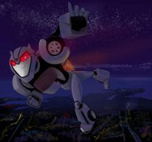Bumble in the dark by Noah-midnight