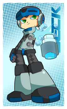 Mighty No. 9 BECK! by DisforDomo