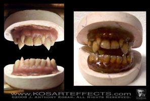 Satanic Panic Dental Appliance by KOSARTeffects