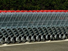 Shopping Carts 15256651 by StockProject1