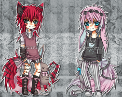 Gothic Adopts [CLOSED] by nerinrin
