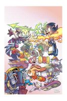 Sonic Universe Issue 24 by Colorguy