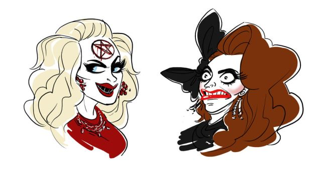 The Real Winners of RuPaul's Drag Race All Stars 2 by DIN0LICH