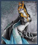 Midna Human/True Form by sexyvanessa69