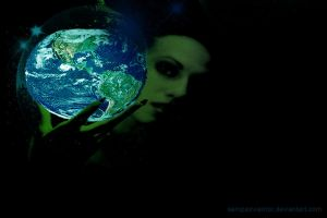 Earth will not be dimmer by SempaxWarrior