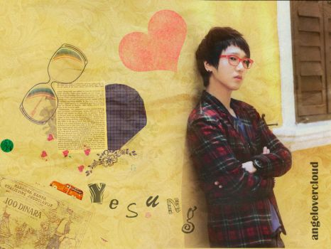 Yesung by angelovercloud