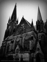 Gothic Church II by NebelViolet