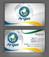 Card Business Argus by guidodesignvetor