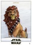 Star Wars - Mufasa - Chewbacca by deviantetienne