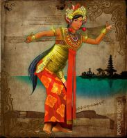 Bali Dancing Pepper by PepperProject