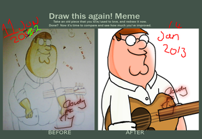 Draw this again: Peter Griffin. by Cloudy-Mcfly
