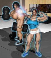 Gym Grow 2 by Stone3D