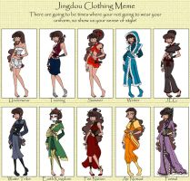 CCJ: Liuli's Clothing by MistressOrchid