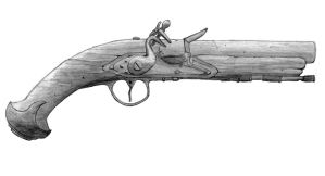 Flintlock pistol by Vayneik