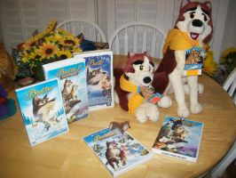 Here is just a big pic of my Balto Collection XD by BeautifulHusky