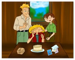 Happy 17th Birthday Arnold by Rei-Hikaru