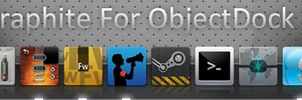 Graphite For ObjectDock 2 by Joomla12