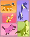 Dino designs by FancyPancakes