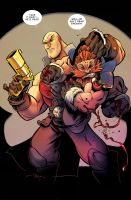SKULLKICKERS by 3nrique