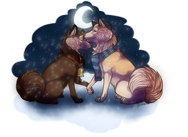 .:gift:. I love you by LuneTheTiger