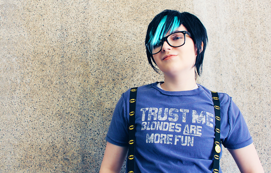 Starfighter Cain Cosplay: Hipster by BloodlustDetox