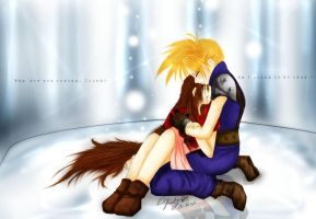 ...Why are you crying, Cloud? by difinity