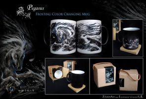 PEGASUS Color Changing Mug by ZilvenArt