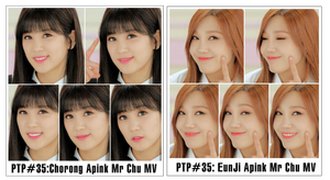 PHOTOPACK #35: Chorong,EunJi (Apink) Mr Chu by CeCeKen2000