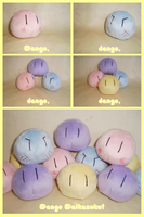 Clannad: Dango Daikazoku Plush by sugarstitch