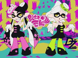 Squid Sisters PnS Style by DrkZlave