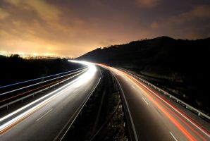 nighty highway by sileh