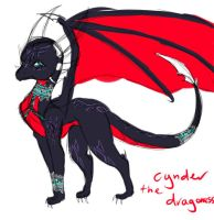 Cynder the dragoness by EeveeChild