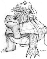 Robot Turtle by air-bourne