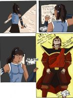 Korra meets Zhao by One-Two-Three-KABOOM