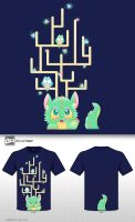 Cute Monster T-shirt Competition by See-past-the-madness