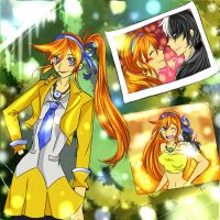 .: Dual Destinies- Athena and Simon 2013 :. by Monstrocker