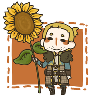 Sunflower by jamknight