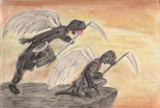 Gift: offscreen angels by ouchmyeyes